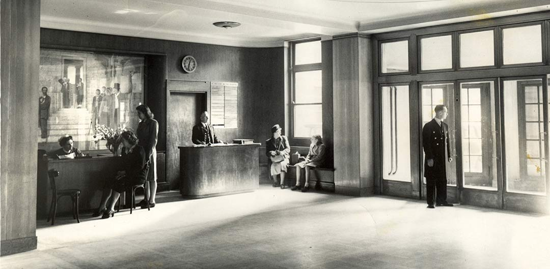 Arringing at the old Middlesex Hospital London