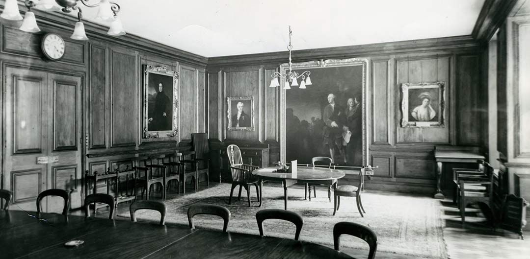 Middlesex Hospital boardroom
