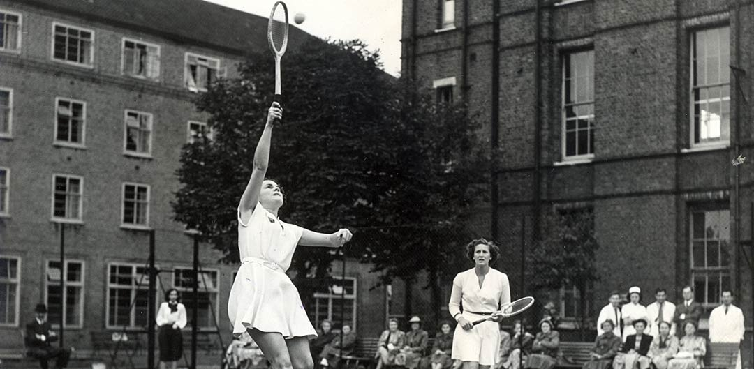 Middlesex Hospital tennis match